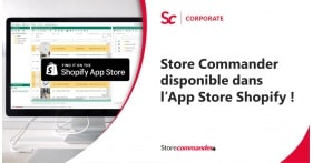 Shopify : Store Commander disponible dans l'App Store Shopify !