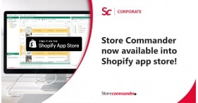 Shopify: Store Commander now available into Shopify App Store!