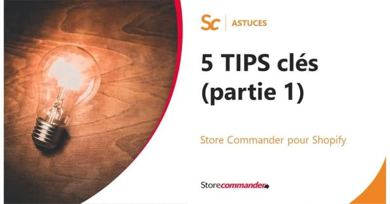 Optimisez votre efficacité sur Sc pour Shopify en 5 Tips