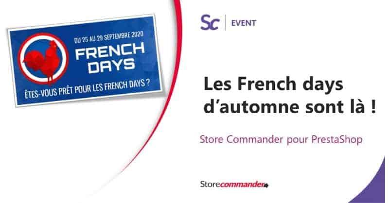 Les French Days d'automne sont là !
