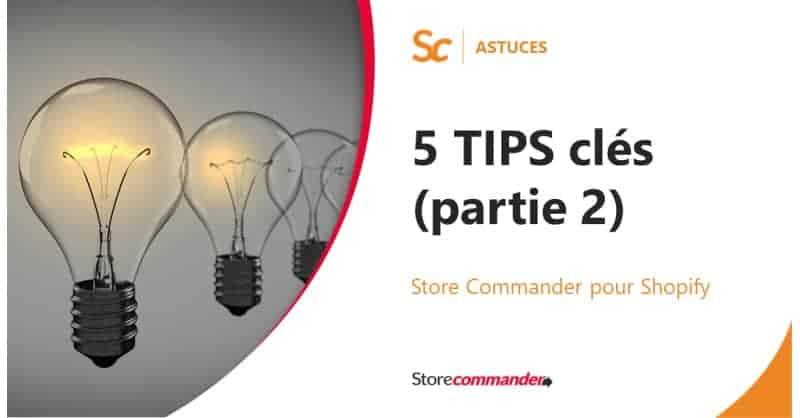 Vous éclairez avec Sc pour Shopify en 5 Tips