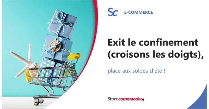 Exit le confinement (croisons les doigts !), place aux soldes d'été !