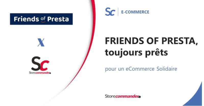 FRIENDS OF PRESTA, toujours prêts pour un eCommerce Solidaire