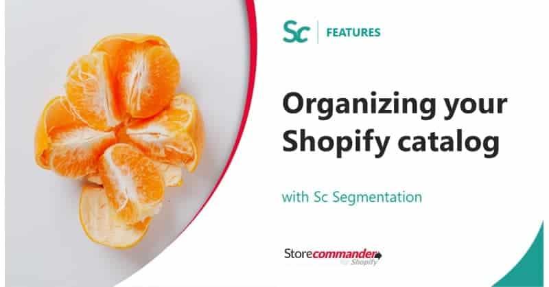 Comment structurer votre catalogue Shopify grâce à l'outil Segmentation Sc ?