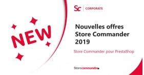 Nouvelles offres Store Commander 2019