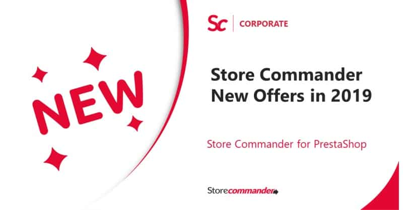 Store Commander New Offers in 2019