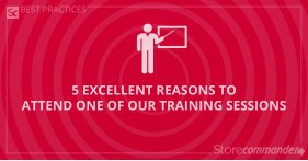 5 excellent reasons to attend one of our training sessions