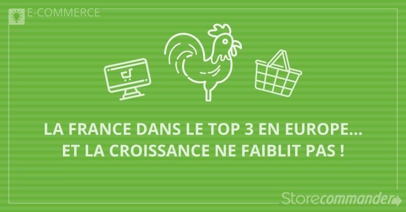 E-commerce 2017, la France dans le Top 3 en Europe… et la croissance ne faiblit pas !