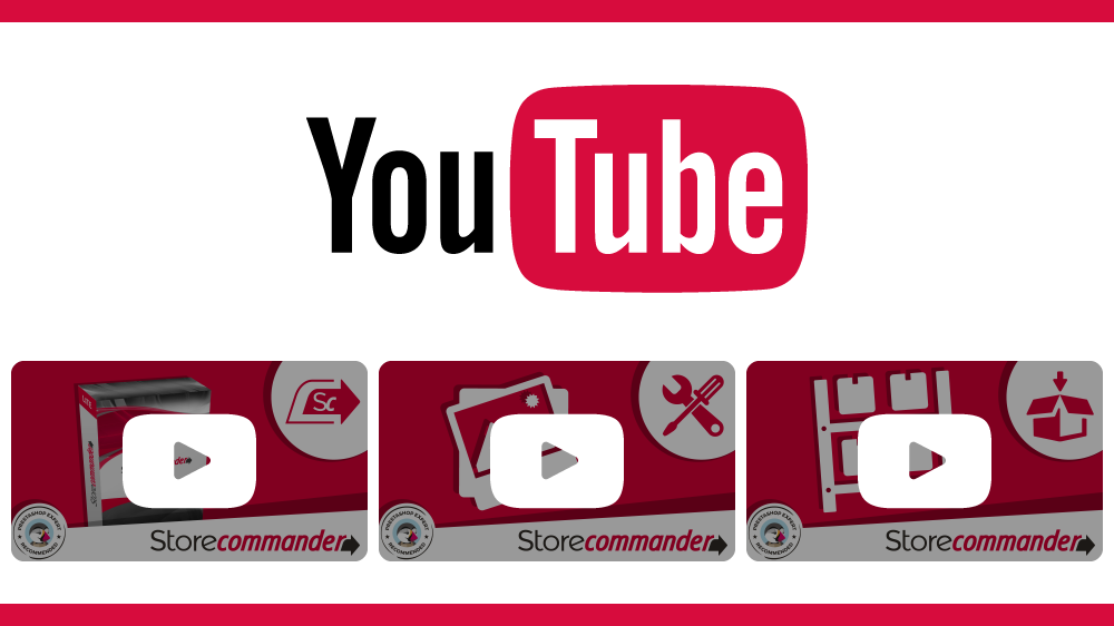 YouTube videos - Store Commander
